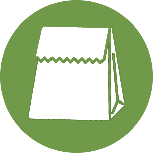 lunch sack icon