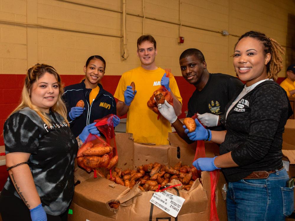 Volunteer For Hunger Action Month