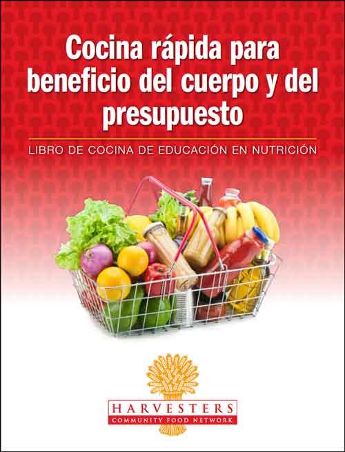 Harvesters Spanish cookbook cover