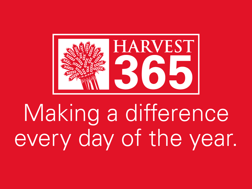 Harvest 365 Making a difference every day of the year.