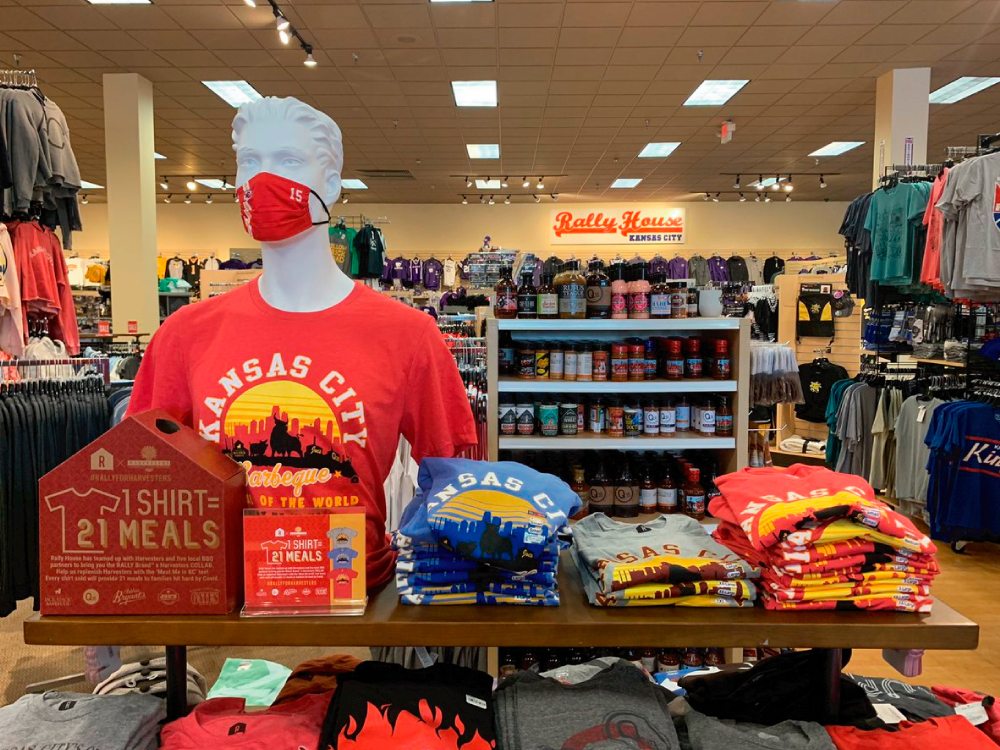 Rally For Harvesters Shirts in Store