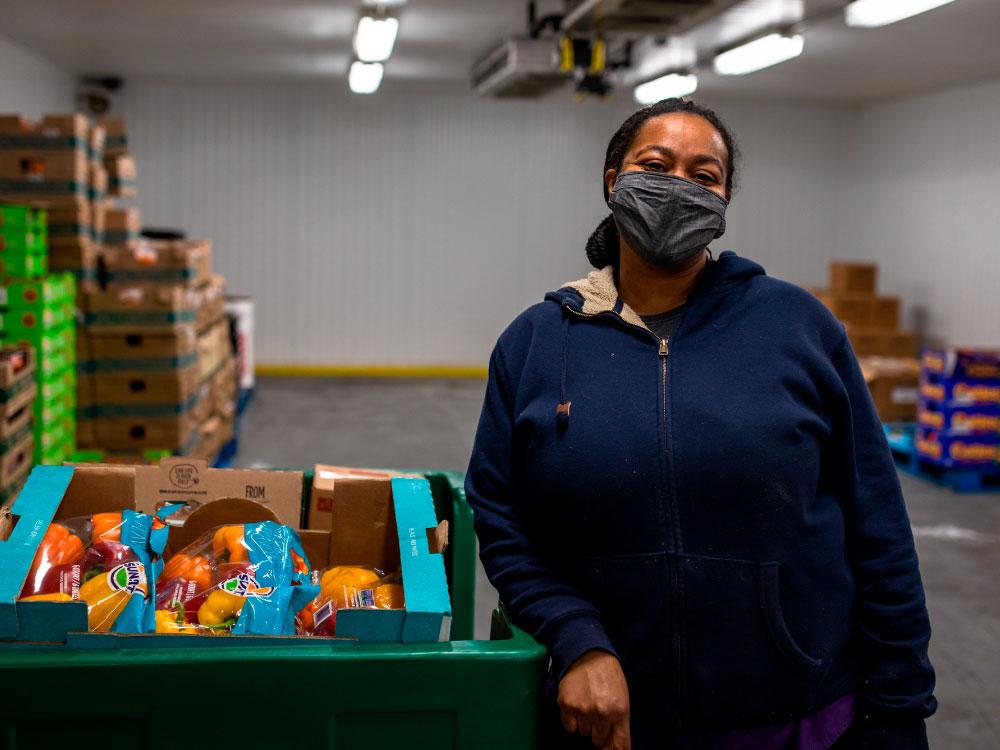 Agency Partner in Fridge Picking Food